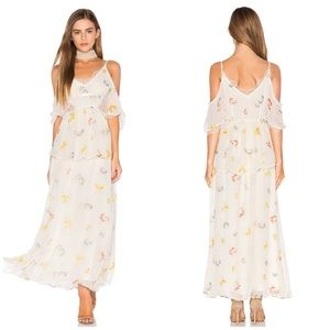 NWT Free People Magnolia Floral Maxi Dress